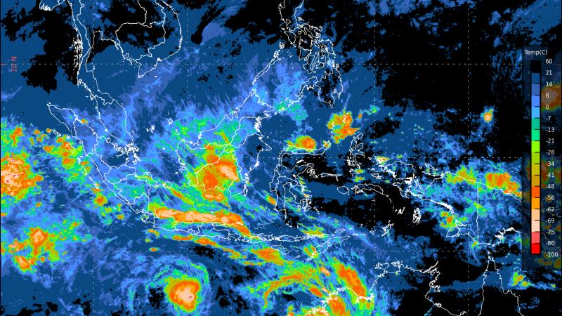 Data Terbaru Siaran Pers Waspada Potensi Hujan Lebat (01 Maret – 07 Maret 2020)