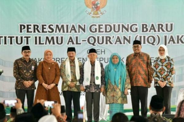 Wakil Presiden RI Meresmikan  Tiga Gedung baru di IIQ Jakarta