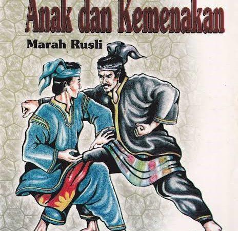 Anak dan Kemenakan Novel Karya Marah Rusli: Angkatan Balai Pustaka