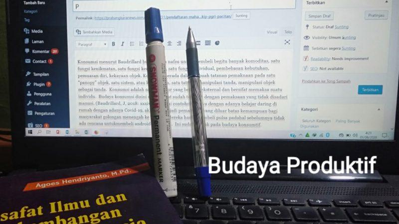 Menumbuhkan Sikap  Produktif  Kepada Siswa dari Sudut Pandang Perspektif Budaya