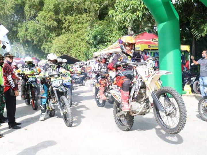 """Kodim 0309/Solok, Selenggarakan """"Wirabraja Trail Adventure"""" dalam Rangka HUT ke 75 TNI"""