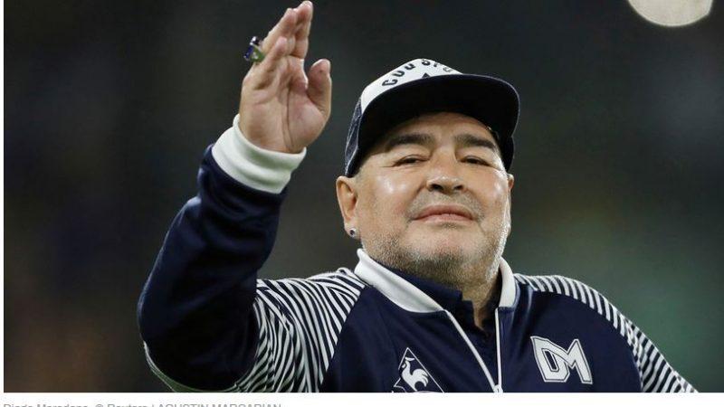 Legenda Sepak Bola Argentina Diego Maradona Meninggal Dunia di Usia 60 Tahun