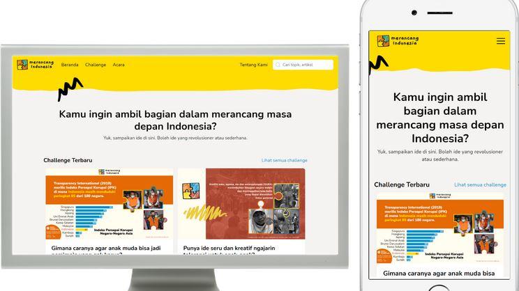 Peluncuran Merancang.id (MID), Ajak Anak Muda Rancang Masa Depan Indonesia
