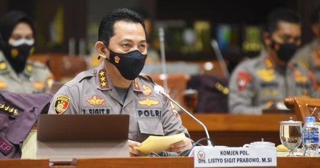 Calon Kapolri Komjen Listyo Sigit Prabowo;  Polisi Terlibat Narkoba Dipecat-Dipidana