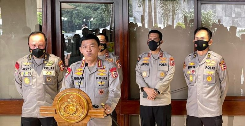 Komjen Listyo Sigit Prabowo Jalni Fit and Proper Test Cakapolri, Didampingi Senior dan Junior Polri