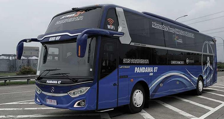 """Capsule Bus ""Dream Coach Inovasi Baru Jetbus Series Produk Adiputro"