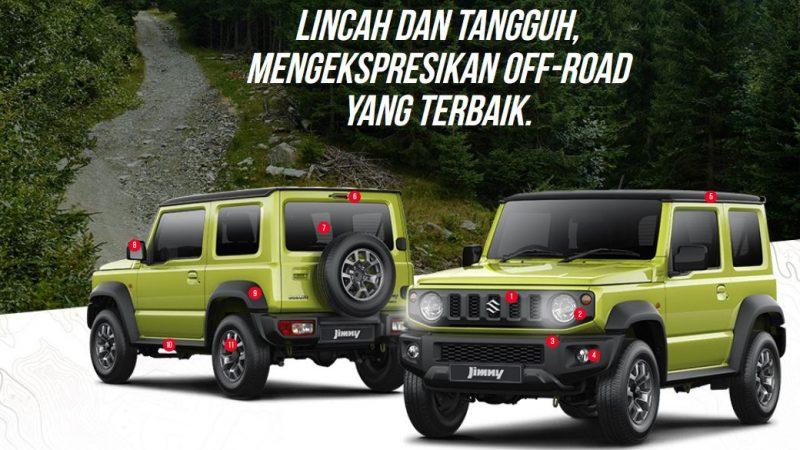 Jimny Gear For Pro, Lincah dan Tangguh