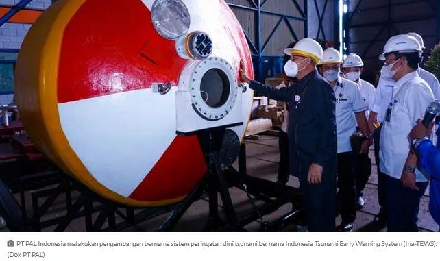 Buoy, Pendeteksi Tsunami Super Cepat Buatan  Anak Bangsa