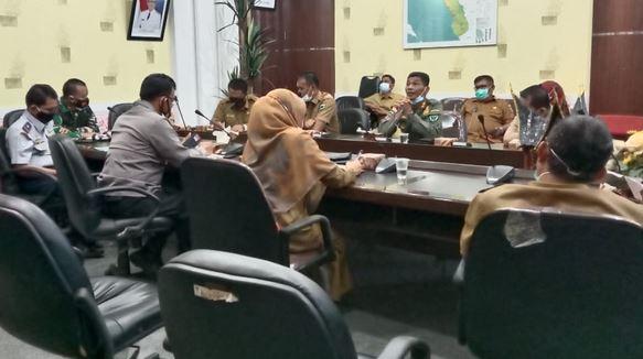 Rakor Pelantikan Bupati dan Wakil Bupati  Dihadiri Dandim 0311 / Pessel