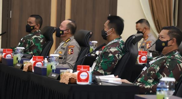 Kasal Hadiri Rapim TNI-Polri Tahun 2021
