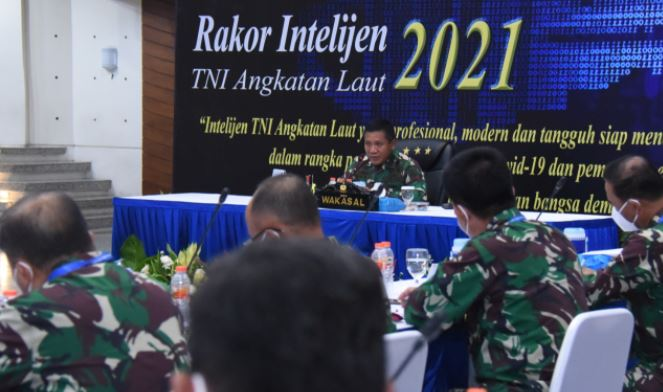 Wakasal: Komunitas Intelijen  Mampu Jaga Marwah TNI Angkatan Laut