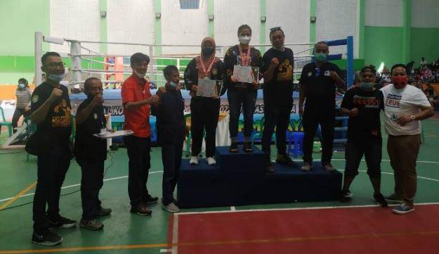 Tiga Petinju Brebes Gondol Tiga Medali di Kejuaraan Tinju Walikota Cup Tasikmalaya