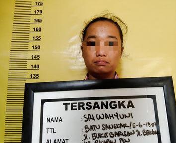Tim Opsnal Polsek Bukit Raya Amankan Pasutri dan Seorang Tersangka Penyalahgunaan Narkotika.