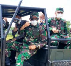 Dislitbangad Uji Coba Amunisi Standar NATO