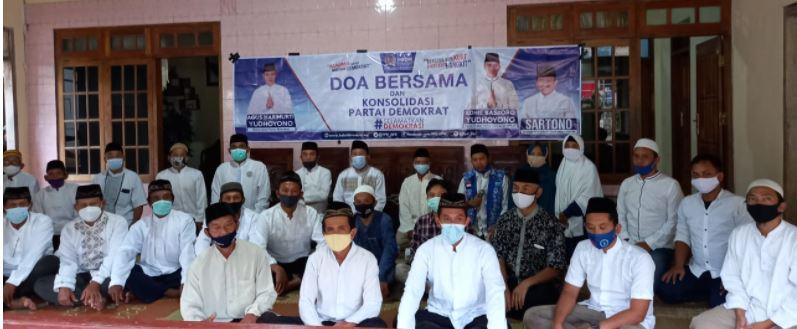 Bentuk Dukungan Moral ke  SBY dan AHY, 'Sartono Dulur Dewe' Laksanakan Doa Bersama