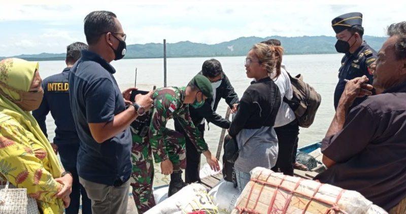 Operasi Gabungan PORA, Satgas Yonarhanud 16 Jaga Stabilitas  Nasional di Nunukan