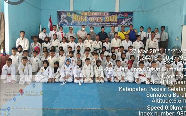 Dandim 0311/Pessel Hadiri Pembukaan Kejuaraan Karate MGKC Open 2021