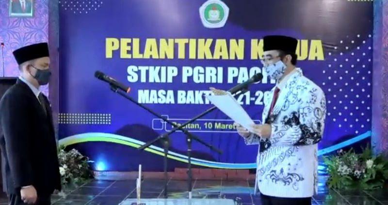 Pelantikan Ketua STKIP PGRI Pacitan 2021-2025