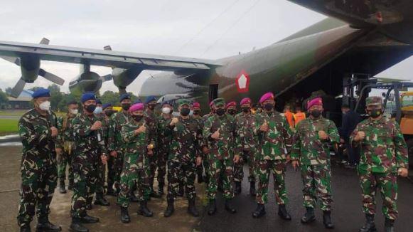 Korps Marinir TNI AL Kirim Pasukan Ke Korban Bencana NTT