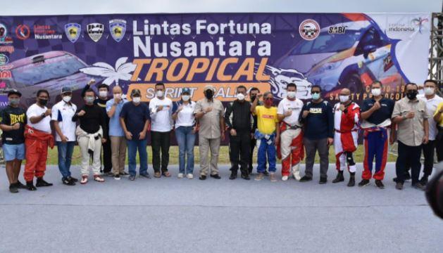 Ketua MPR Bambang Soesatyo, Buka Kejurnas Sprint Rally Tropical Tanjung Lesung Banten 2021