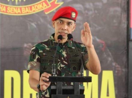Sosok Kolonel Lucky Avianto, Perwira Infanteri Baret Merah Sandang 3 Gelar Lulusan Terbaik