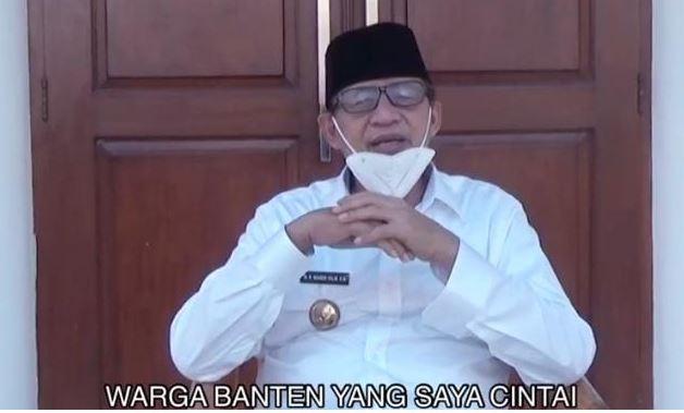 Mudik Dilarang, Gubernur Banten Wahidin Halim; Melalui Medsos Kita Bisa Silaturahmi
