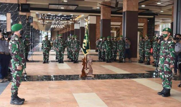 Kasad; Pimpin Laporan Korps Kenaikan Pangkat Pati TNI AD dan Sertijab Dirajenad