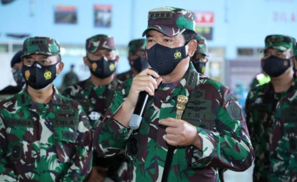 Pasca Serangan Teroris di Gereja dan Mabes Polri, Panglima TNI Perintahkan Peningkatan Pengamanan