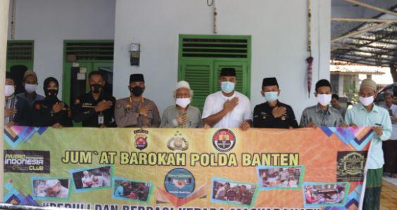 Kabidhumas Polda Banten Kunjungi Ponpes Raudatul Ulum Cidahu Pandeglang