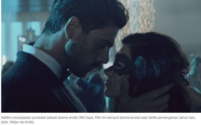 Sekuel Drama Erotis 365 Days Siap Diproduksi Netflix