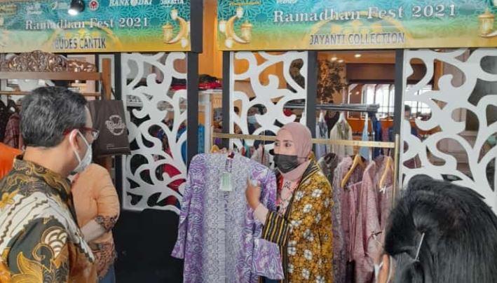 Jayanti Collection Ada di Ramadhan Fest 2021, Walikota Jakpus Harap UMKM Bisa Bangkit dan Berdaya Saing