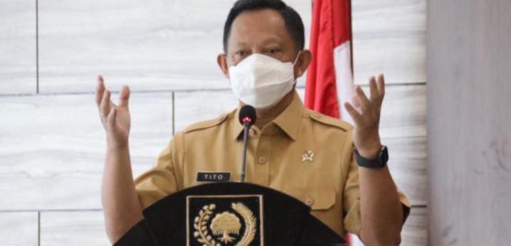 Mendagri Tito Karnavian; Masyarakat Jangan Lengah dan Patuhi  Protokol Kesehatan, Belajar dari India
