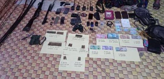 2 Jenazah Teroris OPM dan 1 Senjata Panjang Ditemukan Aparat, Olah TKP di Mayuberi