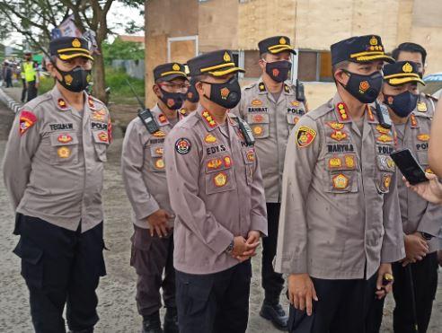Ratusan Personel Polda Banten Diterjunkan Back Up Polres Jajaran
