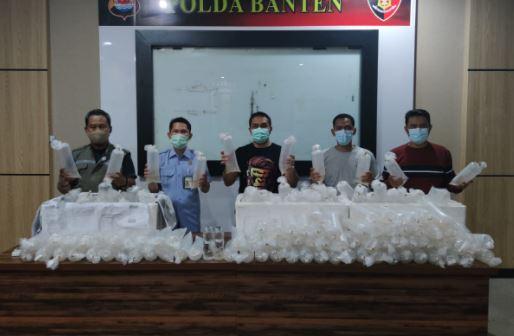 Polda Banten Berhasil Gagalkan Penyelundupan 34.992 Bibit Lobster