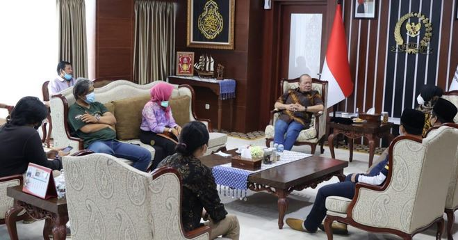 Bertemu Komunitas Budaya Jawa Barat, LaNyalla  Pentingnya Dialog Pecahkan Masalah Bangsa