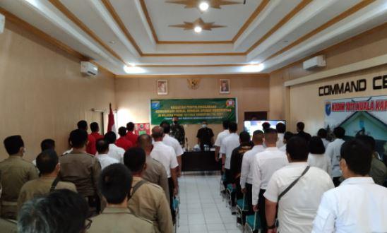 Komsos Dihadiri Dinas Pertanian, Satpol  PP dan BLK Kab.Kapuas
