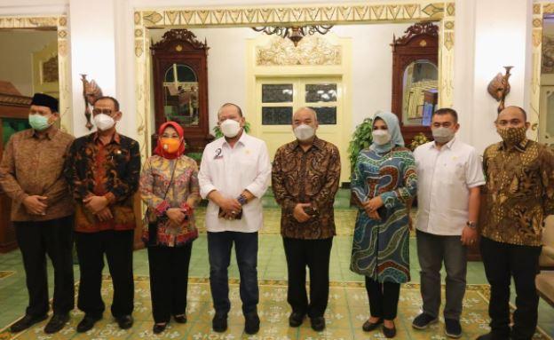 Silaturahmi dengan KGPAA Paku Alam X, Ketua DPD RI Beri Dukungan untuk Pariwisata DIY