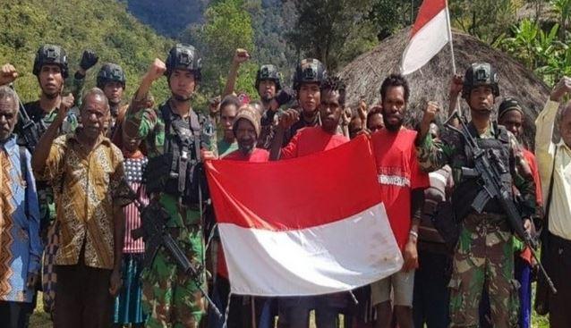 Kembali Ke  NKRI, Sejumlah 26 Anggota Teroris Bersenjata Papua