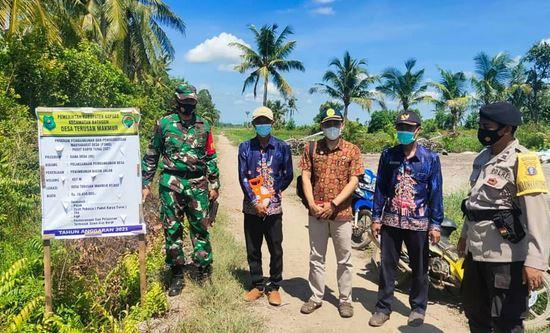 Serda Yono Lakukan Monitoring Dana Desa di Wilayahnya