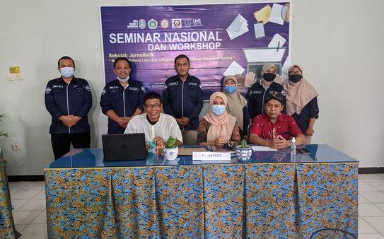 Seminar Nasional Sekolah Jurnalistik,  Pengembangan Diri Siswa Meningkatkan Kreatifitas Literasi  Siswa SMKN I Donorojo