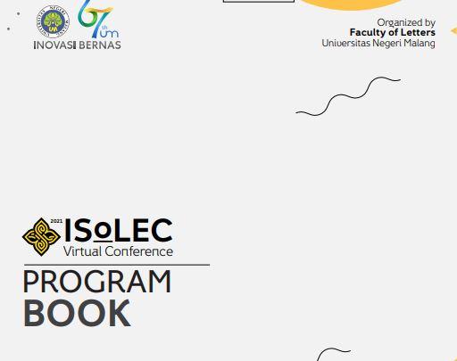 International Seminar of Language, Education, and Culture ISoLEC  2021, Universitas Negeri Malang.