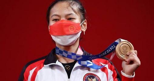 Presiden Sampaikan Selamat Atas Raihan Medali Pertama Indonesia di Olimpiade Tokyo