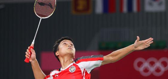 Anthony Sinisuka Ginting Hidupkan Asa Merah Putih di Sektor Tunggal Putra Olimpiade Tokyo 2020