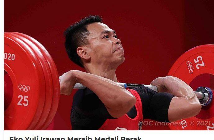 Bonus 5 Miliar Disiapkan Bagi Atlet Indonesia Peraih Emas Olimpiade Tokyo