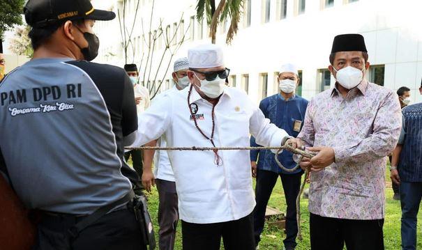 Ketua DPD RI, Rayakan Idul Adha dengan Jalankan Prokes  Perwujudan Berkurban