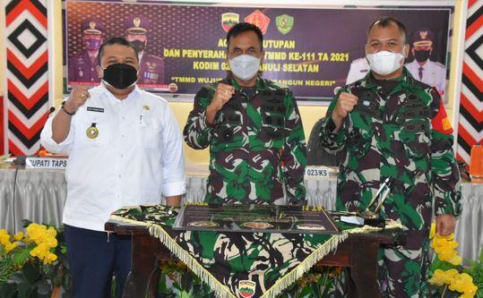TMMD ke 111 Kodim Tapsel Kemanunggalan TNI dengan Rakyat Nyata