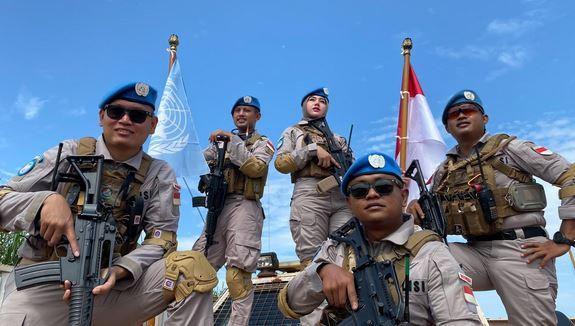 Sebanyak 5 Personel Terbaik Polda Banten Dipercaya Jalankan Misi Perdamaian di Afrika Tengah