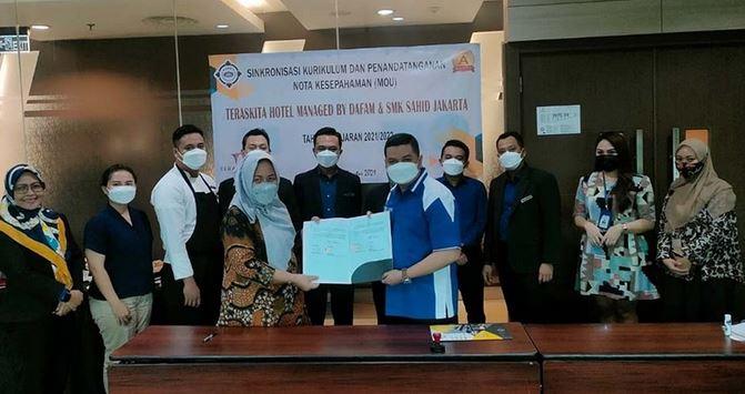 Teraskita Hotel Jakarta Jalin Sinergi dengan Dunia Pendidikan