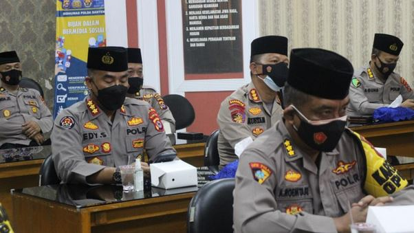 Kapolda Banten Turut Hadir Zikir dan Doa Kebangsaan 76 Tahun Indonesia Merdeka